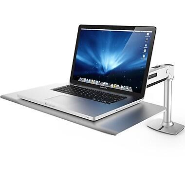 Ergotron Work Station Sit U0026 Stand Desk, Gray/Silver (24 408