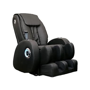 iComfort – Chaise de massage thérapeutique IC1116 avec MP3 intégré, noir