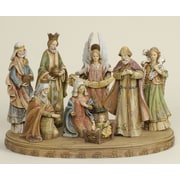 Roman, Inc. 8 Piece Nativity Set w/ Base