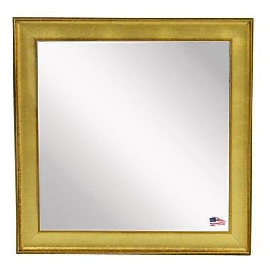 Rayne Mirrors Ava Vintage Mirror; 27.5'' W X 27.5'' H