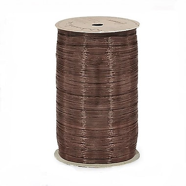 B2B Wraps Wraphia Matte, 18mm x 100 Yards, Brown, 6/Pack