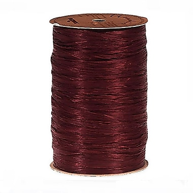 B2B Wraps Wraphia Matte, 18mm x 100 Yards, Burgundy, 3/Pack