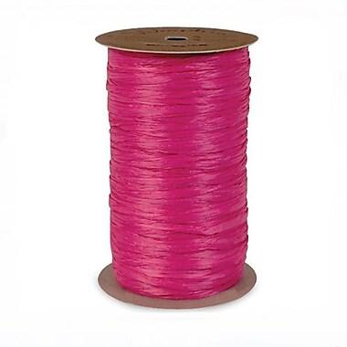 B2B Wraps Wraphia Matte, 18mm x 100 Yards, Hot Pink, 3/Pack