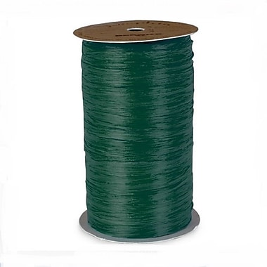 B2B Wraps Wraphia Matte, 18mm x 100 Yards, Hunter Green, 6/Pack