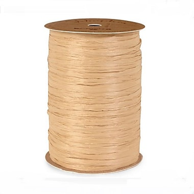 B2B Wraps Wraphia Matte, 18mm x 100 Yards, Natural, 3/Pack
