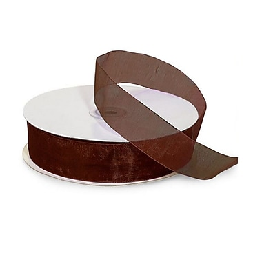 B2B Wraps Organza Sheer Ribbon, 7/8