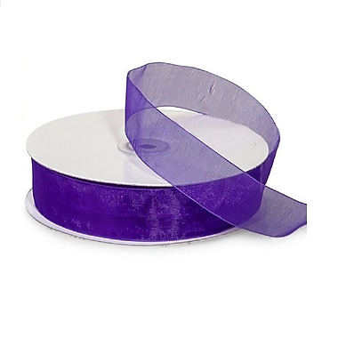 B2B Wraps Organza Sheer Ribbon, 1-1/2