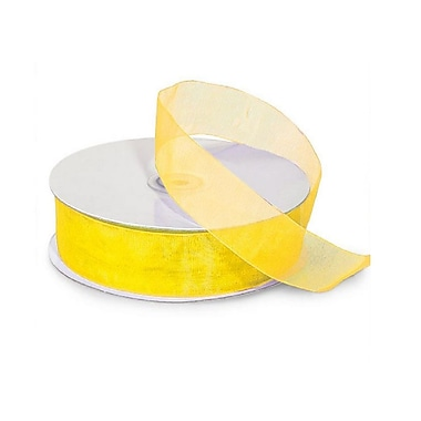 B2B Wraps Organza Sheer Ribbon, 5/8