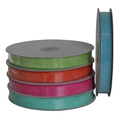 B2B Wraps Organza Sheer Ribbon, 5/8