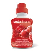 SodaStream® Cranberry-Raspberry Flavoured Syrup, 500mL