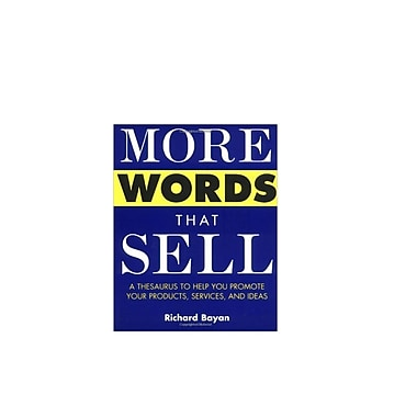 More Words That Sell Richard Bayan Paperback