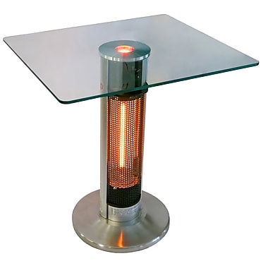ENER-G+ HEA-1575J67L-2 Bistro style Infrared Heater Table