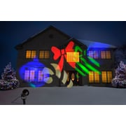 Starscapes Lights LED Spot Projection, Multicolored Holiday Shapes and Images