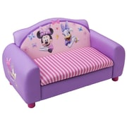Delta Children Disney Minnie Mouse Kids Sofa w/ Storage Compartment