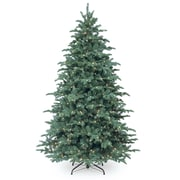 7.5' Blue Spruce Artificial Christmas Tree w/ 750 Incandescent Clear Lights w/ Stand