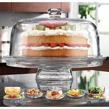 Home Essentials and Beyond Ally Convertible Cake Stand