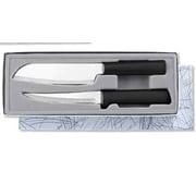 Rada Cutlery 2 Piece Cook Knife Set; Black