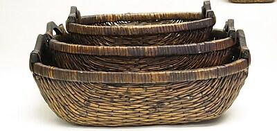 DestiDesign 3 Piece Stitch Weave Tray Set