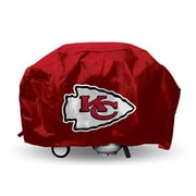 Rico Industries NFL Deluxe Grill Cover - Fits up to 68''; Kansas City Chiefs