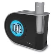 Timex Indiglo 4.3 inch W x 2.3 inch H x 5.8 inch D Black Dual Alarm Table Clock (T402BC) by