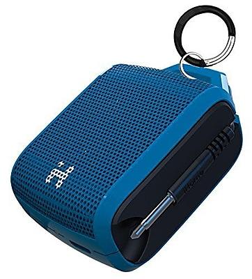 iHome iM54LBC Portable Rechargeable Mini Speaker, Blue/Black