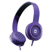 iHome iB35UBC Over-the-Head Stereo Headphones Purple