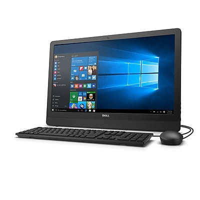 Dell Inspiron i3455-1241BLK AMD E2 Processor, 500 GB HDD, 4 GB RAM, Windows 10 Home All in One Computer