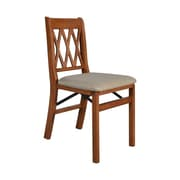 Stakmore Side Chair (Set of 2); Cherry