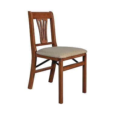 Stakmore Side Chair (Set of 2); Cherry Blush