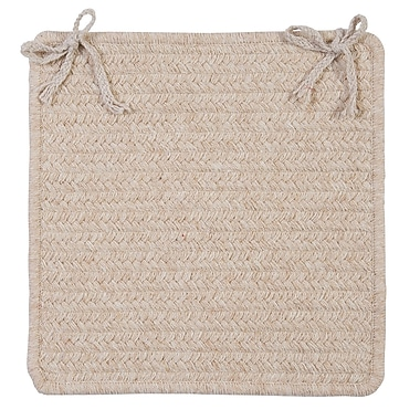 Colonial Mills Westminster Chair Pad; Natural