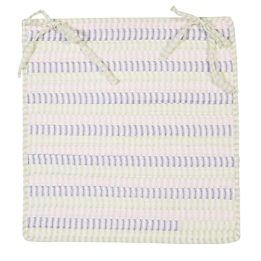 Colonial Mills Ticking Stripe Chair Pad (Set of 4); Dreamland