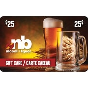 New Brunswick Liquor $25 Gift Card