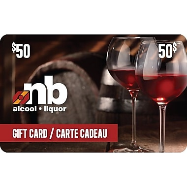 New Brunswick Liquor $50 Gift Card