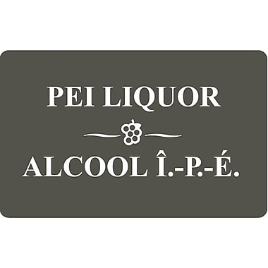 P.E.I. Liquor Control Commission - Carte-cadeau de 50 $