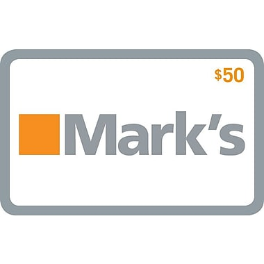 Mark's – Carte-cadeau de 50 $