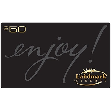 Landmark Cinemas $50 Gift Card