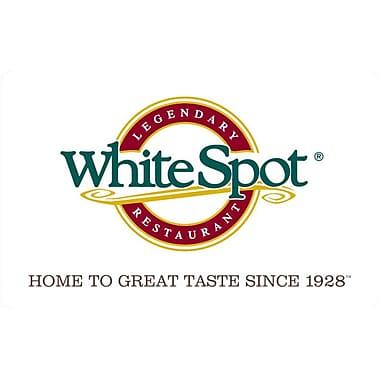 White Spot $25 Gift Card