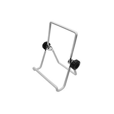 Futech – Chevalet en fil métallique 3 3/4 larg. x 5 1/4 haut. (po), blanc, paq./10