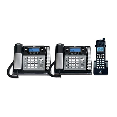 RCA TC25424RE1 3PC 4-Line Desk Phone with Caller ID Kit