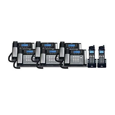 RCA TC25424RE1 8PC 4-Line Desk Phone with Caller ID Kit