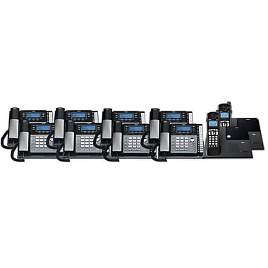 RCA TC25424RE1 10PC 4-Line Desk Phone with Caller ID Kit