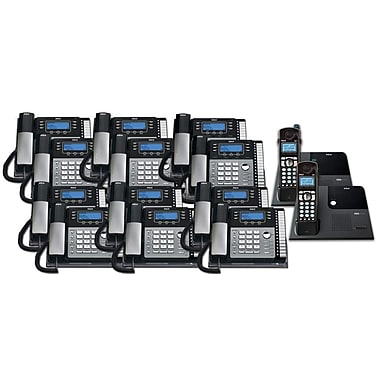 RCA TC25424RE1 14PC 4-Line Desk Phone with Caller ID Kit