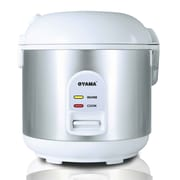 Oyama Rice Cooker, Warmer and Steamer; White