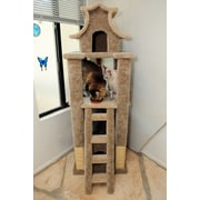 New Cat Condos 67'' Premier Designer Cat Tree; Brown