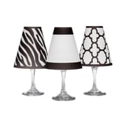 di Potter Manhattan 4.5'' Paper Empire Candelabra Shade (Set of 6); Black