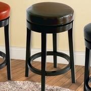 Armen Living 30'' Swivel Bar Stool; Brown