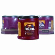 PROCTER & GAMBLE Folgers Ground Coffee, Classic Roast Regular, 6/Carton
