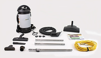 ProTeam New Sierra Backpack Commercial Vacuum 32MM Tools and Wessel Werk Power Nozzle Kit