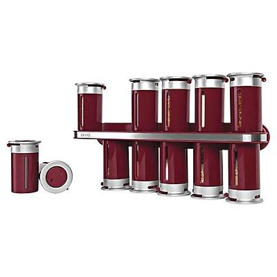 Zevro Zero Gravity 12 Jar Spice Jar