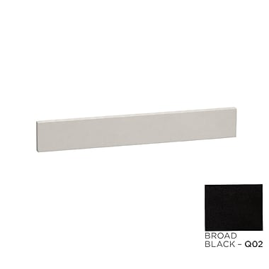 Ronbow TechStone? 25'' x 3'' Backsplash in Broad Black